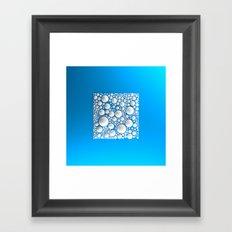 Circle Square Framed Art Print
