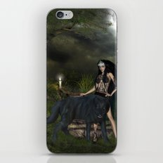 The awesome wolf iPhone & iPod Skin