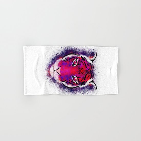 Berry Tiger  Hand & Bath Towel