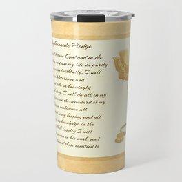 The Florence Nightingale Pledge Travel Mug