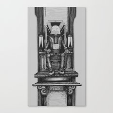 Pax Robota - B&W Canvas Print