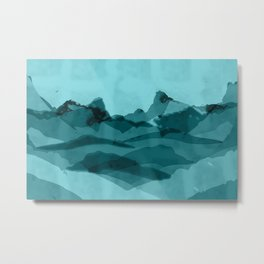 Mountain X 0.1 Metal Print