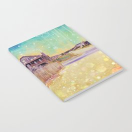 Beach Cruiser and Stars Notebook