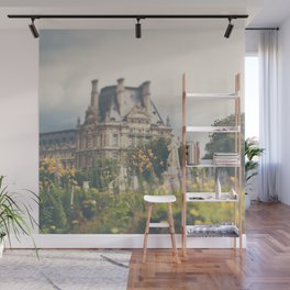 Paris Louvre Photograph Wall Mural