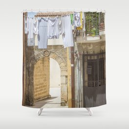 Laundry in Syracuse Shower Curtain