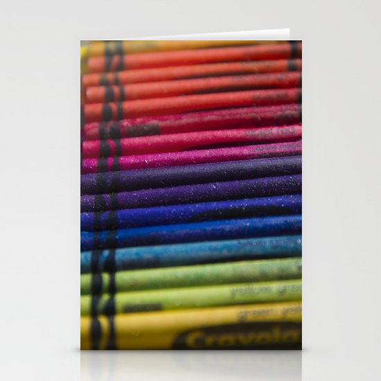 Crayons: Out of the Box! Stationery Cards