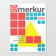 merkur single hop Canvas Print