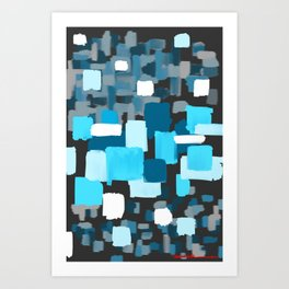 FOCUSED Art Print
