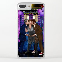 Happy Birthday to Mrs. River Clear iPhone Case