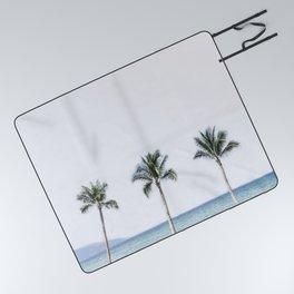 Palm trees 6 Picnic Blanket