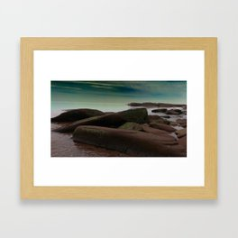 Evening at the Shore Framed Art Print