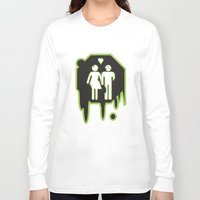 zombies Long Sleeve T-shirts featuring Zombies by JJ Fry