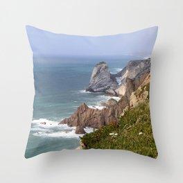 Cabo da Roca Throw Pillow