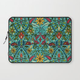 aziza turquoise Laptop Sleeve