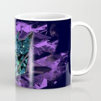 transformers Mugs featuring Decepticons Abstractness - Transformers by DesignLawrence