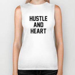 Hustle And Heart Biker Tank