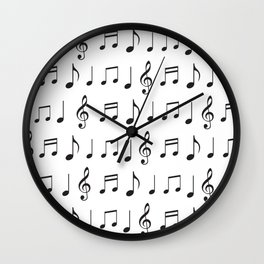 Music is life. Fill your life with music vibes all time round. Wall Clock