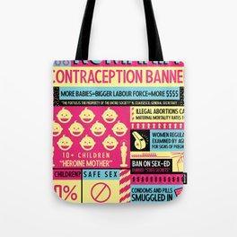 Contraception Ban Tote Bag