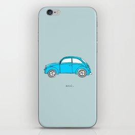 Azul. iPhone Skin
