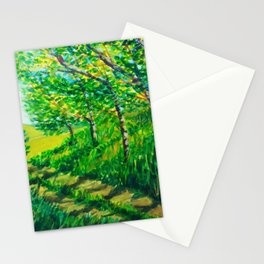 Village Path Stationery Cards