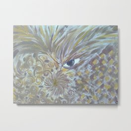 The Mythical Bird Metal Print