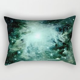 Orion neBUla. : Green Rectangular Pillow