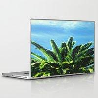 "palm tree Laptop & iPad Skins featuring Palm TreE  by ""CVogiatzi."