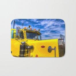 Peterbilt Truck Bath Mat
