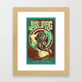 JACK THE GEKKO - 1 Framed Art Print