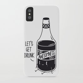 Pure awesomness iPhone Case