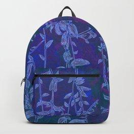 blue botanics Backpack