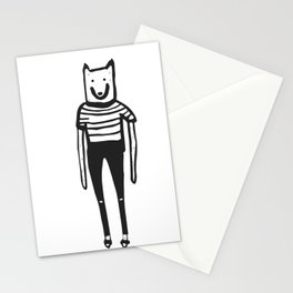 Wolfie and the gang. Minus the gang. Stationery Cards
