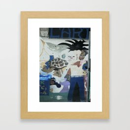 Street art, Napoli 1 Framed Art Print