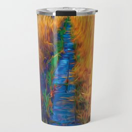Wetland Boardwalk Travel Mug