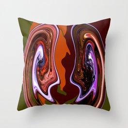 Canyon Cousins Throw Pillow