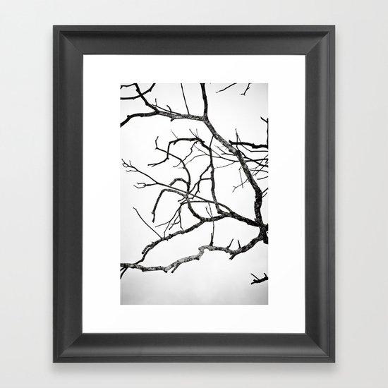 Broken sky Framed Art Print