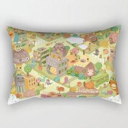 Slowtown Rectangular Pillow