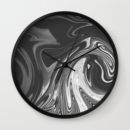 SHACKLE - BLACK Wall Clock