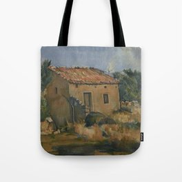 Abandoned House near Aix-en-Provence Tote Bag