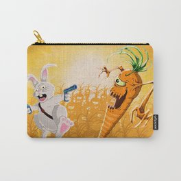 Bad Wabbit vs. Killer Carrot Carry-All Pouch