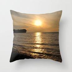 Hanford Bay, New York Throw Pillow