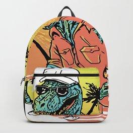 Dinosaur cocktail Backpack