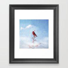Holly Berry Heaven Framed Art Print