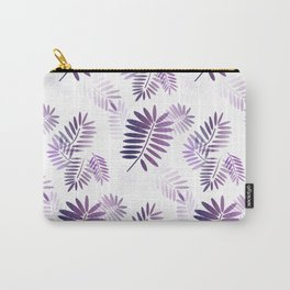 Purple Tropics Carry-All Pouch