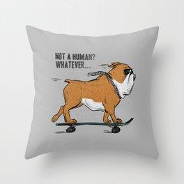 Coolldog Throw Pillow