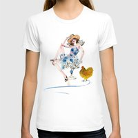 rooster T-shirts featuring Rooster by Hyegallery