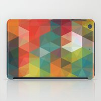 transparent iPad Cases featuring Transparent Cubism by All Is One