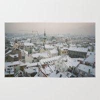 prague Area & Throw Rugs featuring Prague by BriAnneWills