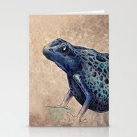 frog Stationery Cards featuring Frog by Werk of Art