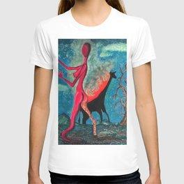 The Burning Giraffe T-shirt